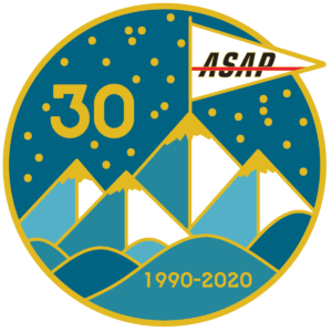 ASAP 30-year anniversary logo