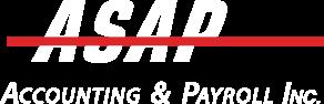 ASAP white logo